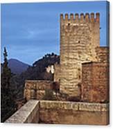 The Alcazaba The Alhambra Canvas Print