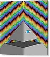 The All-seeing Eye Canvas Print