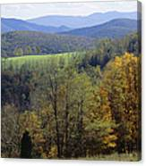 The Allegheny Front, North Fork Canvas Print