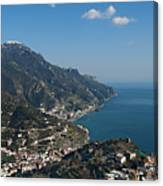 The Amalfi Coast From Ravello Canvas Print