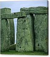 The Ancient Ruins Of Stonehenge Canvas Print