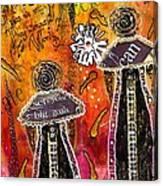The Angelic Sistahs Canvas Print