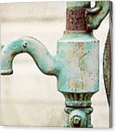 The Aqua Pump Canvas Print