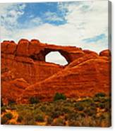 The Arches Of Utah Canvas Print