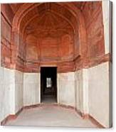 The Architecture And Doorways Of The Humayun Tomb In Delhi Canvas Print