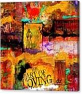 The Art Of Loving Canvas Print