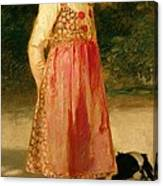 The Artist's Daughter - Hilde   Canvas Print