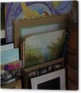 The Artists Studio Canvas Print