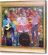 The Backsliders Canvas Print