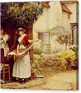 The Ballad Seller Canvas Print