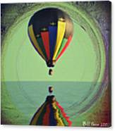 The Balloon And The Sea Canvas Print