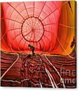 The Balloonist - Inside A Hot Air Balloon Canvas Print