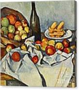 The Basket Of Apples Canvas Print