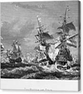The Battle Of Texel, 1673 Canvas Print