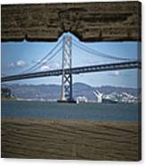 The Bay Bridge Canvas Print