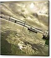 The Bay Bridge Cruz Canvas Print
