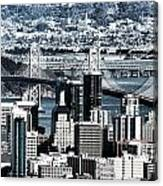 The Bay Bridge Canvas Print