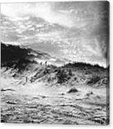 The Beach At Bridgehampton Canvas Print