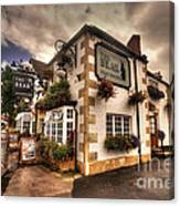 The Bear Inn  Canvas Print