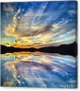 The Beauty Before The Darkness Canvas Print