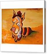 The Beepig Canvas Print