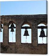 The Bells At The San Juan Capistrano Mission Canvas Print