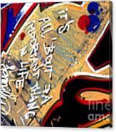 The Berlin Wall 4 Canvas Print