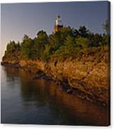 The Big Bay Point Lighthouse, Now A Bed Canvas Print