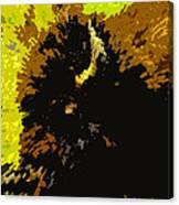 The Bison Hunt Canvas Print