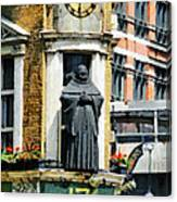 The Black Friar Pub In London Canvas Print