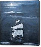 The Black Pearl Canvas Print