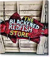 The Blackened Redfish Store Canvas Print