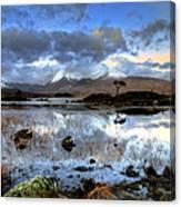 The Blackmount Canvas Print