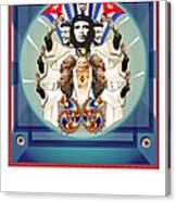 The Blessing IIi Los Comandantes Canvas Print