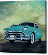 The Blue Hornet Canvas Print