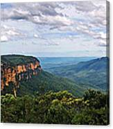 The Blue Mountains - Panoramic View Canvas Print