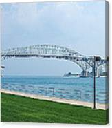 The Blue Water Bridge  Canvas Print