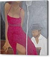 The Blues Singer Canvas Print