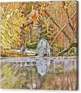 The Boathouse Canvas Print
