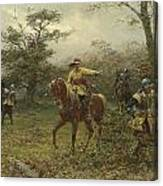 The Boscobel Oak Canvas Print