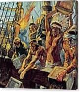 The Boston Tea Party Canvas Print