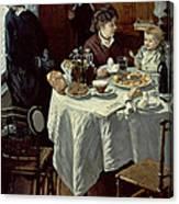 The Breakfast Canvas Print