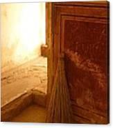 The Broom Canvas Print