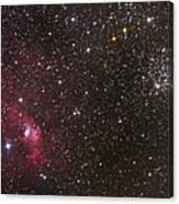 The Bubble Nebula Canvas Print
