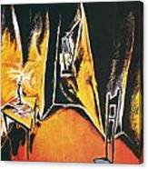 The Cabinet Of Dr Caligari Canvas Print
