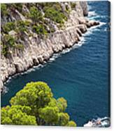 The Calanques Canvas Print