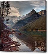 The Calm At Lake Louise Canvas Print