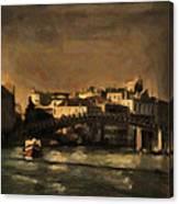 The Canal Venice Canvas Print