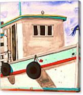 The Caribbean Queen Canvas Print