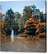 The Castle At Longwood Gardens Canvas Print